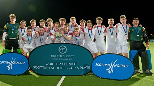 Quilter Cheviot Scottish Schools Cup & Plate finals provide
